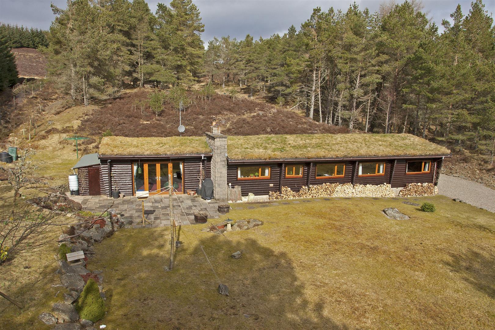 Crievie Lodge, Kirkmichael, Blairgowrie, Perthshire, PH10 7NA, UK